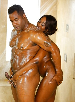 Ebony Handjob Pictures