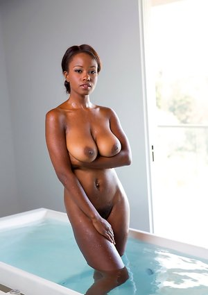 Busty Ebony Pictures
