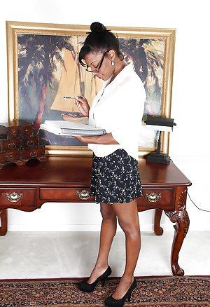 Ebony Secretary Pictures