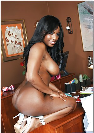 Ebony in Office Pictures