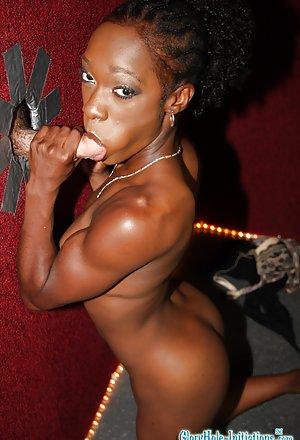 Ebony Handjob Pictures
